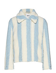 Marthe Jacket - BABY BLUE/ OFF WHITE