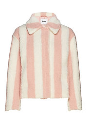 Marthe Jacket - POWDER PINK/OFF WHITE