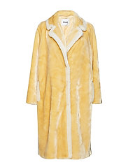 Marianne Coat - YELLOW BEIGE/OFF WHITE