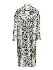 Tasia Coat - OFF WHITE