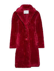 Lisen Coat - DARK RASPBERRY
