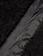Stand Studio - Clara Coat - sztuczne futro - black - 4