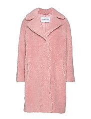 Camille Cocoon Coat - LIGHT PINK