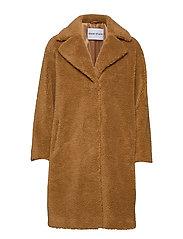Camille Cocoon Coat - NOUGAT
