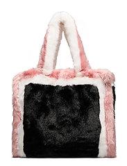Lolita Bag - BLACK/PINK/WHITE,