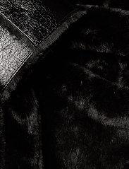 Stand Studio - Pamella Coat - faux fur - black - 5