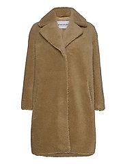 Camille Cocoon Coat - BEIGE