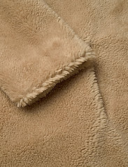 Stand Studio - Camille Cocoon Coat - faux fur - beige - 3