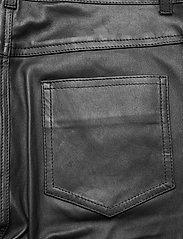 Stand Studio - Stella Jeans II - læderbukser - black - 4