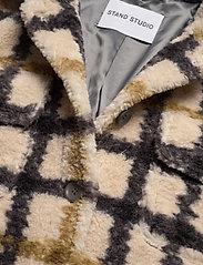 Stand Studio - Sabi Jacket - wool jackets - check - 3
