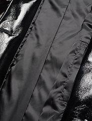 Stand Studio - Aurora Coat - faux fur - black/white - 4