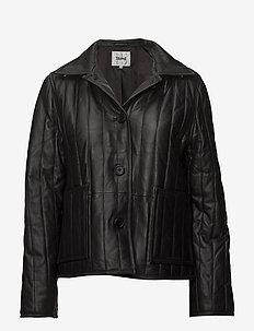 Deni Jacket - nahkatakit - black