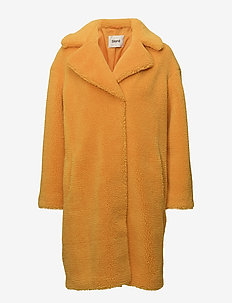 Camille Coocon Coat - tekoturkit - yellow