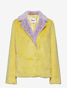 Mariska Jacket - PALE YELLOW/PALE IRIS