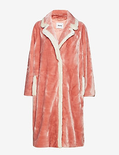 Marianne Coat - OLD PINK/OFF WHITE
