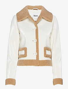 Rakel Jacket - TAUPE/OFF WHITE