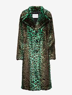 Fanny Coat - tekoturkit - green