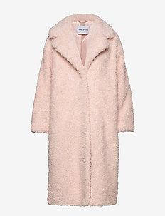 Clara Coat - tekoturkit - soft pink