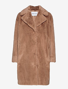 Camille Cocoon Coat - TAUPE