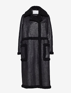 Adriana Coat - BLACK/BLACK