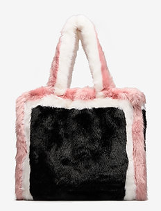 Lolita Bag - BLACK/PINK/WHITE,