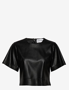 Sherlyn T-Shirt - basic t-shirts - black