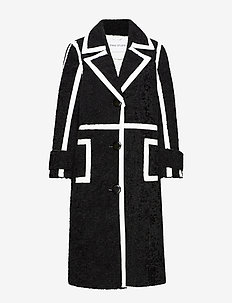 Kenzie Coat - wool coats - black