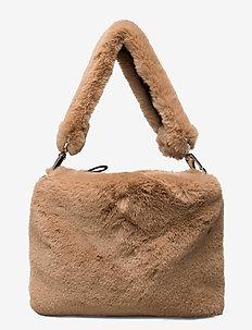Luna Bag - top handle tasker - camel
