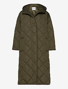 Sue Coat - quiltede jakker - army green