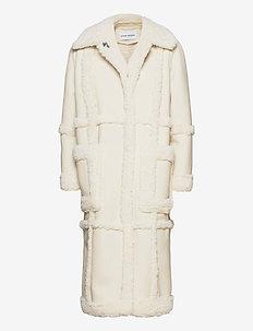 Patrice Coat - fuskepels - off white/off white