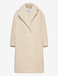 Nicole Coat - fuskpäls - off white