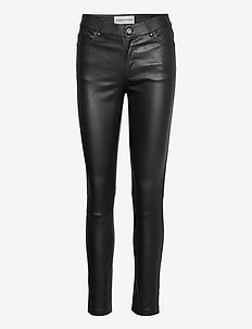 Stella Jeans II - spodnie skórzane - black