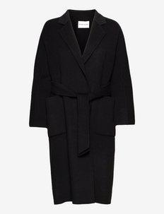 Claudine Coat - manteaux en laine - black