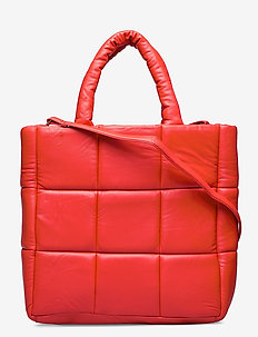 Assante Bag - top handle - ruby red