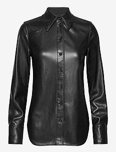 Juliana Shirt - pitkähihaiset paidat - black
