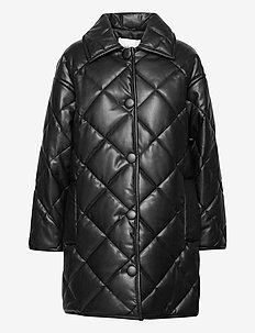 Jacey Puffy Jacket - päällystakit - black