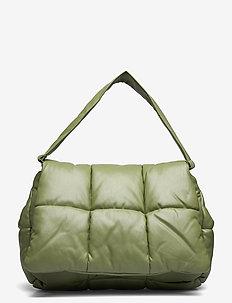 Wanda Clutch Bag - top handle - light army