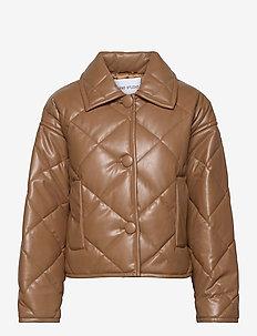 Jacinda Puffy Jacket - tikkitakit - taupe