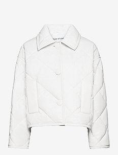 Jacinda Puffy Jacket - tikkitakit - white