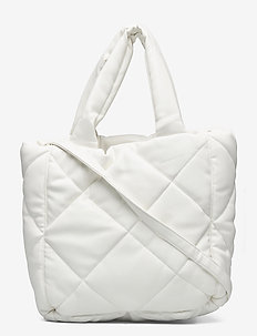 Rosanne Diamond Bag - shopperit - white