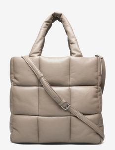 Assante Puffy Bag - cabas - sandstone beige