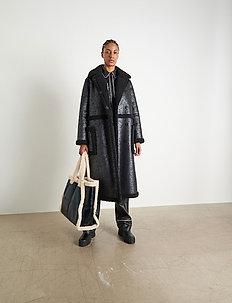 Adriana Coat - coats - black/black