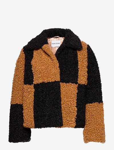 Marcella Jacket - faux fur - nougat