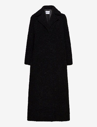 Kylie Coat - wool coats - black
