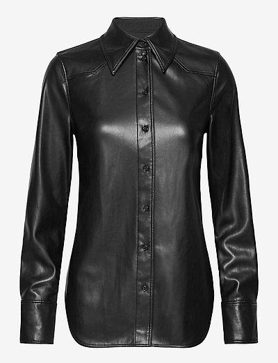 Juliana Shirt - long-sleeved shirts - black