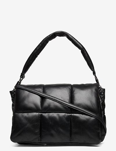 Wanda Clutch Bag - bags - black