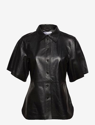 Alivia Shirt - short-sleeved shirts - black