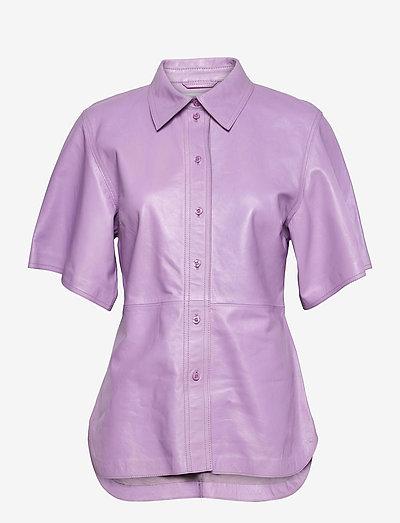 Alivia Shirt - short-sleeved shirts - powder purple