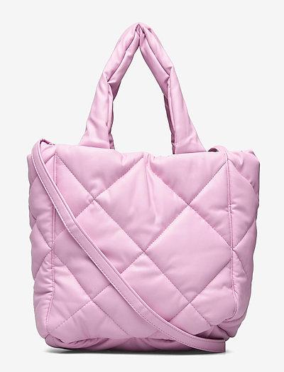 Rosanne Diamond Bag - bags - bubblegum pink