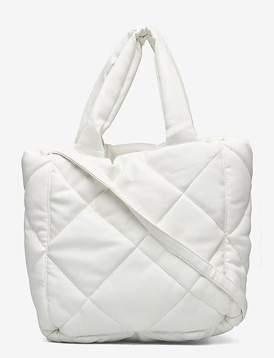 Rosanne Diamond Bag - bags - white